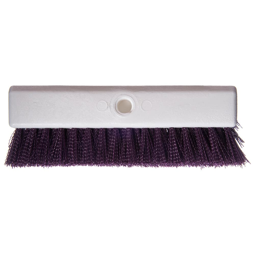 "Carlisle 4042368 10"" Floor Brush - Purple"