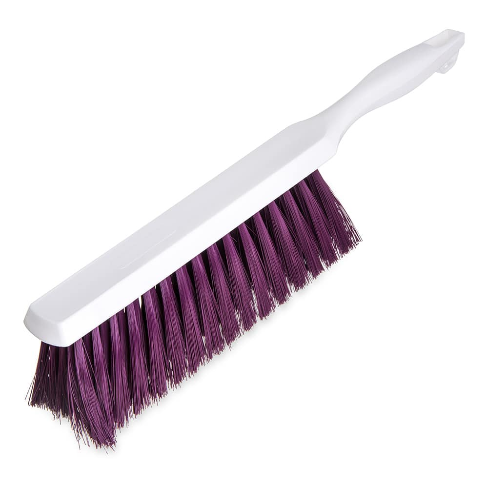 "Carlisle 4048068 13"" Counter/Bench Brush - Poly/Plastic, Purple"
