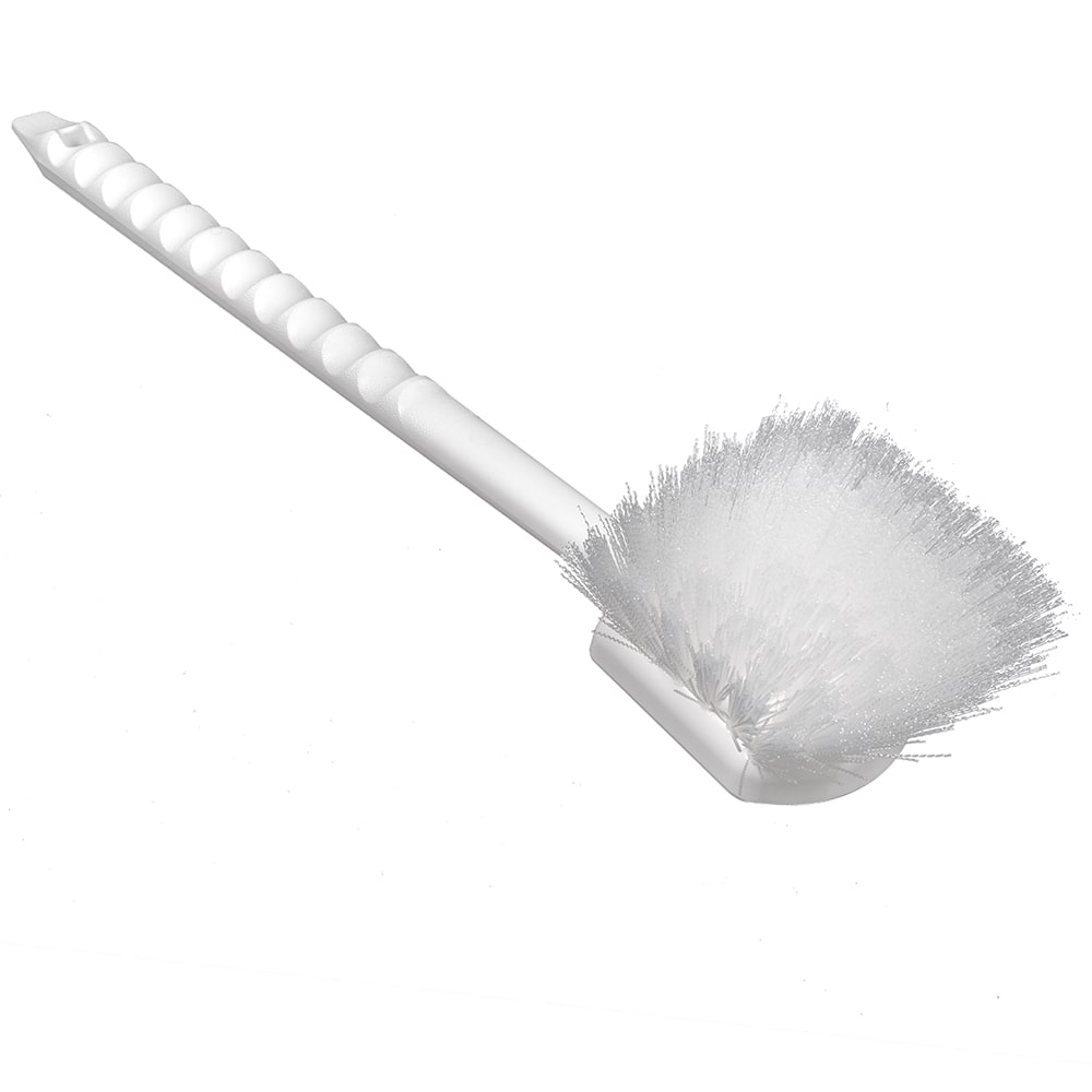 "Carlisle 4050000 20"" Utility Brush - Nylon/Poly, White"