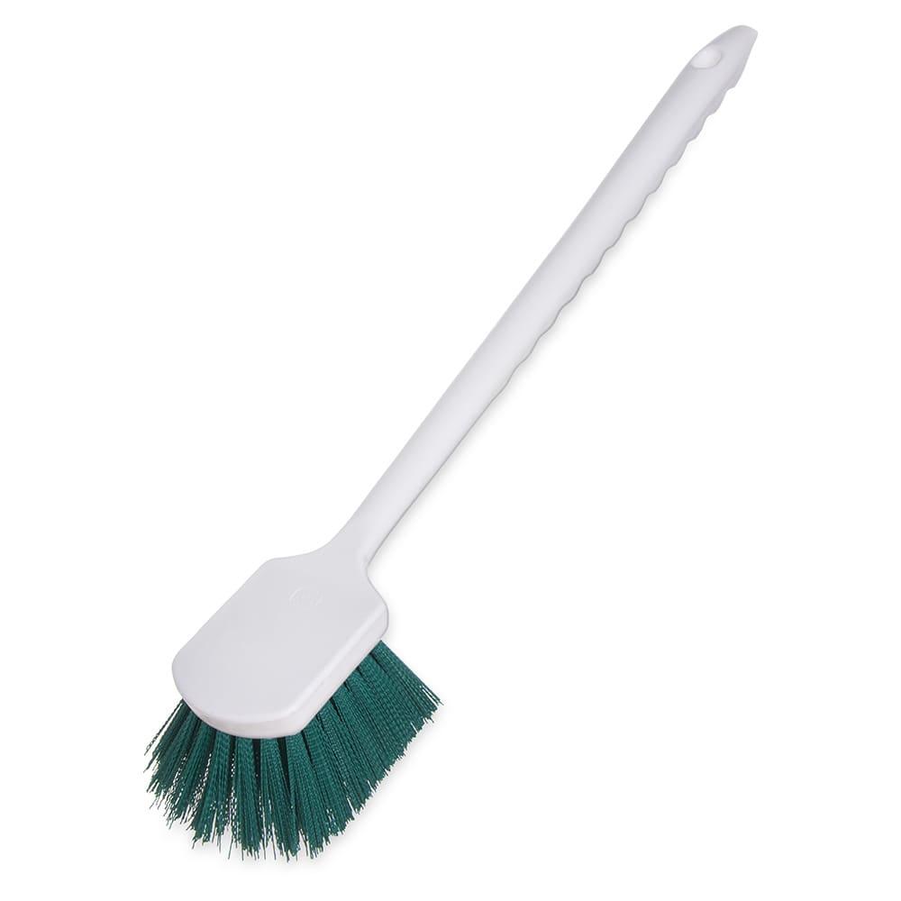 "Carlisle 4050109 20"" Utility Brush - Poly, Green"