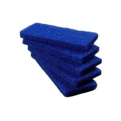 """Carlisle 4072500 Scrub Pad - Medium, 10x4 5/8x1"""" Nylon"""