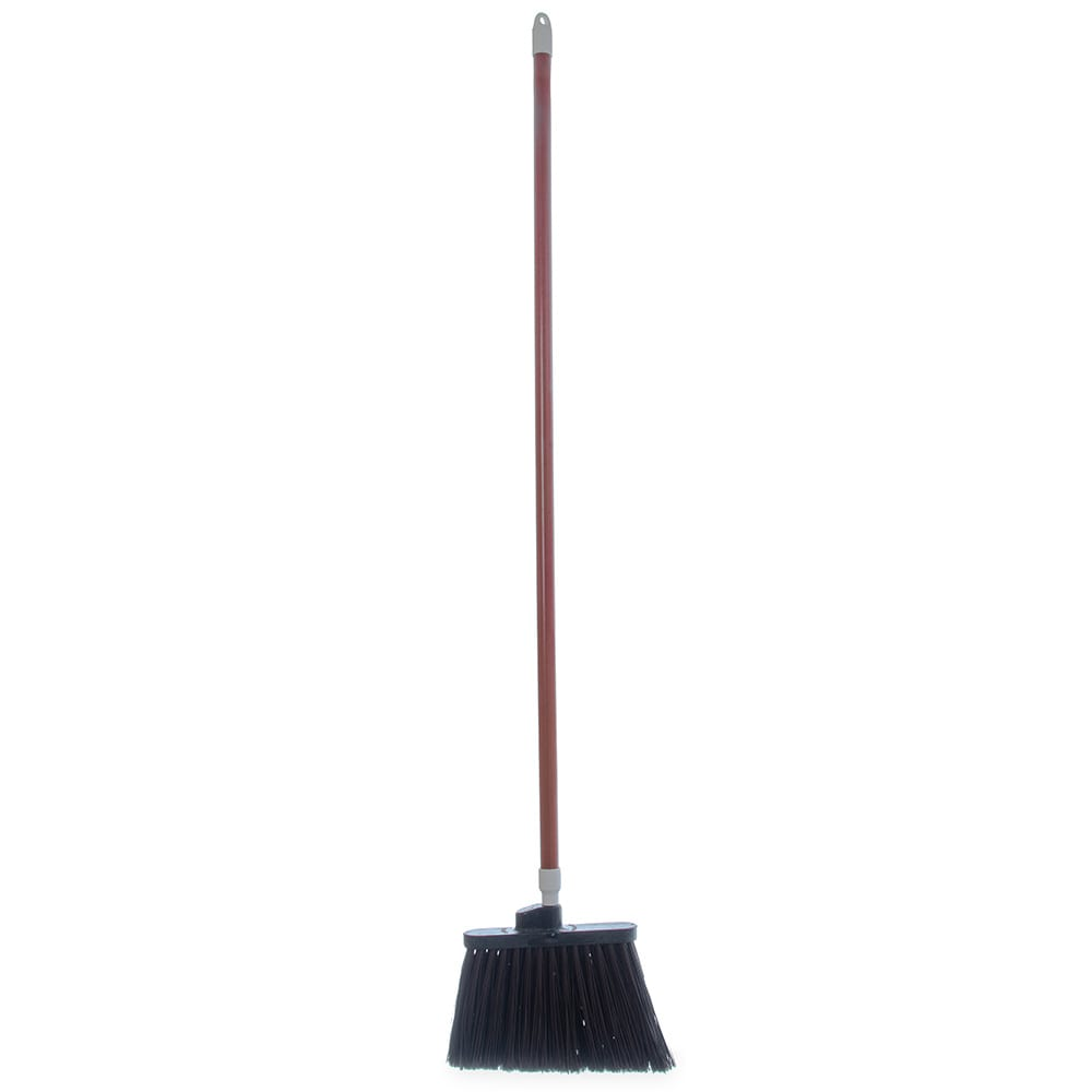 "Carlisle 4108201 48"" Duo-Sweep Angle Broom - Fiberglass/Polypropylene, Brown"