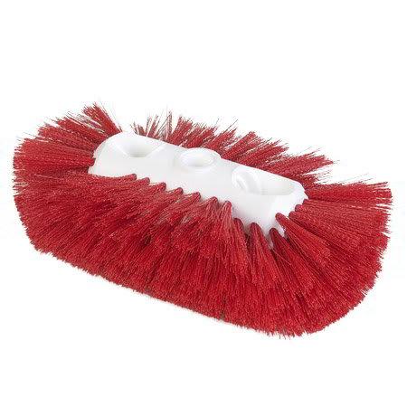 Carlisle 4117705 Jumbo Tank/Kettle Brush w/ Polyester Bristles, Red