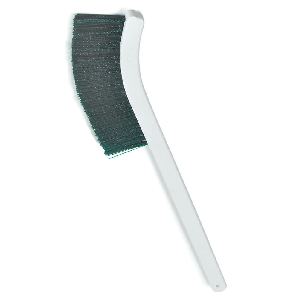 "Carlisle 4119809 24"" Wand Brush w/ Polyester Bristles, Green"