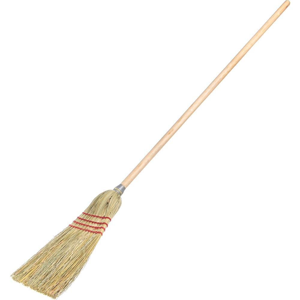 "Carlisle 4135200 55""H Parlor Corn Broom w/ 12"" Head"