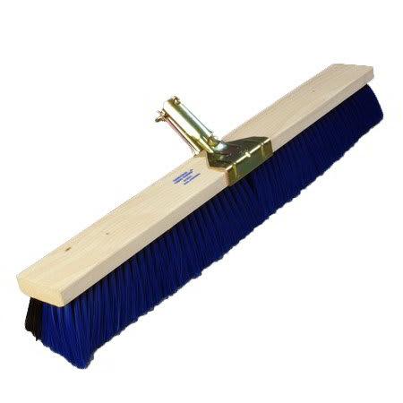 "Carlisle 4187100 24"" Push Broom Head w/ Fine/Medium Synthetic Bristles"