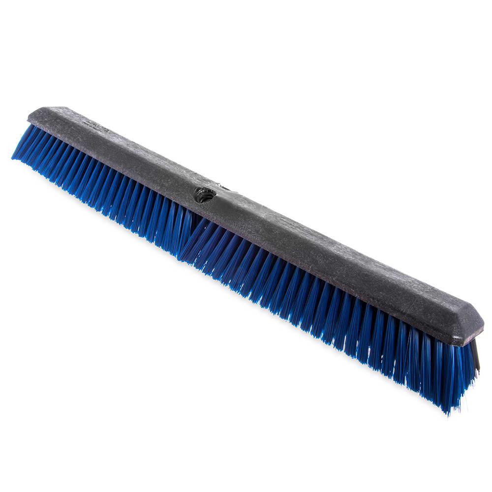 "Carlisle 4188000 18"" Push Broom Head w/ Short Heavy Front & Fine/Medium Back Bristles"