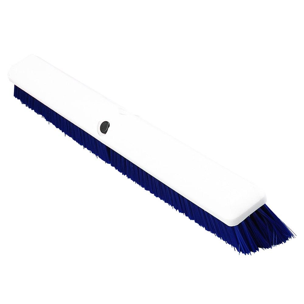 "Carlisle 4189114 24"" Push Broom Head w/ Synthetic Bristles, Blue"