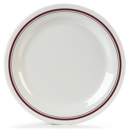 Carlisle 43003903 10.5-in Dinner Plate w/ Narrow Rim, NSF, Morocco On Bone Melamine