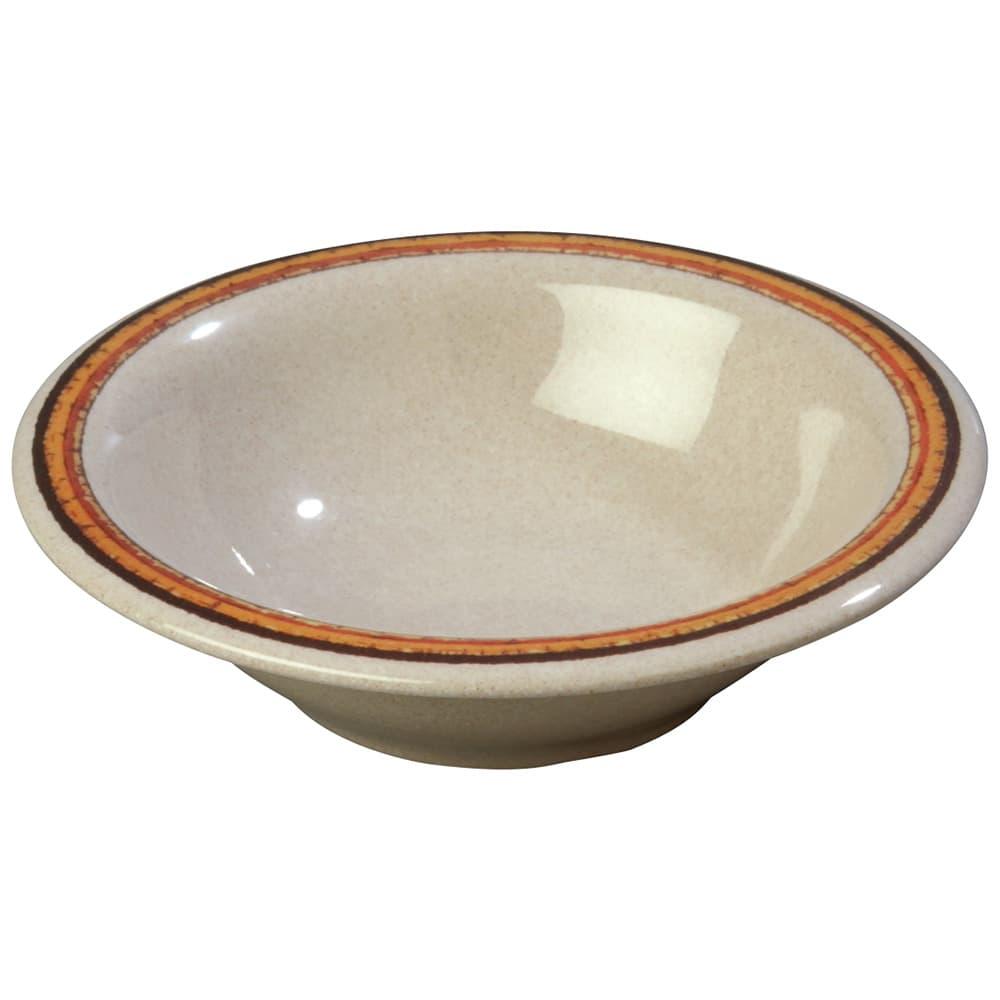 "Carlisle 43037908 7.25"" Round Rim Soup Bowl w/ 12-oz Capacity, Melamine, Sierra Sand on Sand"
