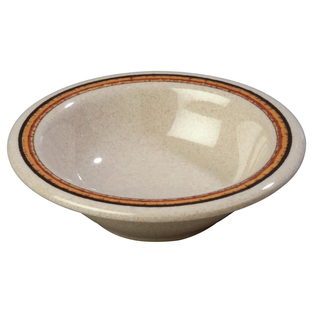 "Carlisle 43043908 4.75"" Round Fruit Bowl w/ 4.5-oz Capacity, Melamine, Sierra Sand on Sand"