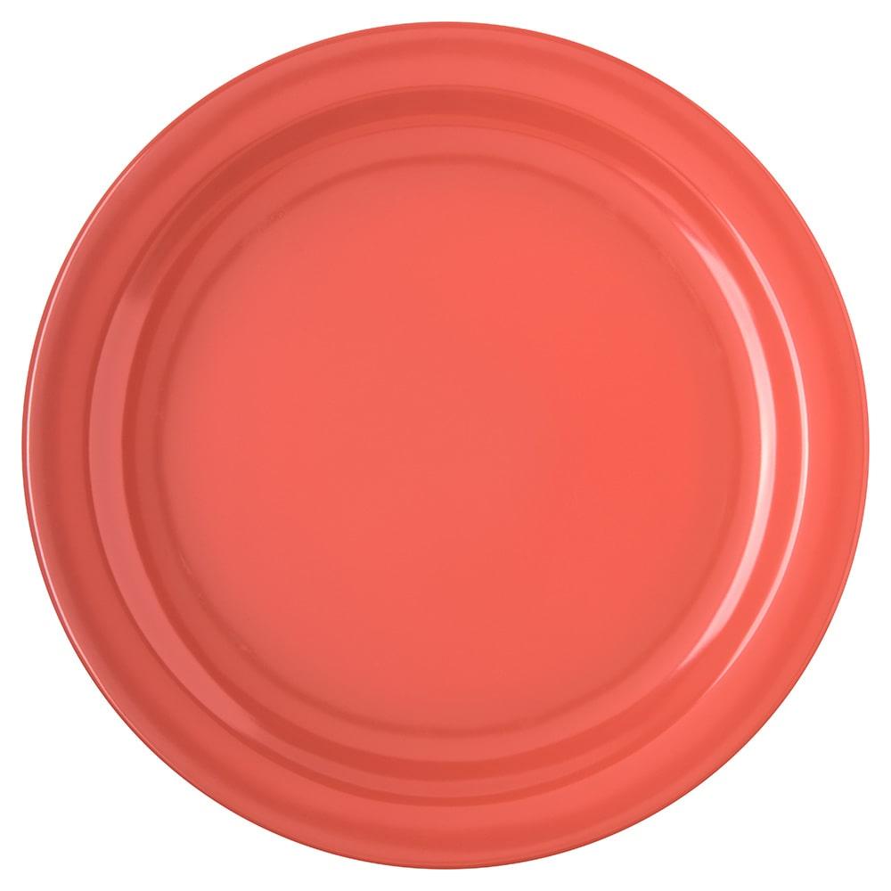 "Carlisle 4350052 10 1/4"" Dallas Ware Dinner Plate - Melamine, Sunset Orange"