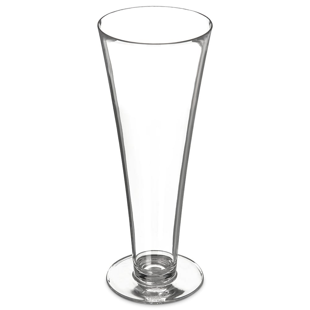 Carlisle 4362307 15-oz Pilsner Glass, Polycarbonate, Clear