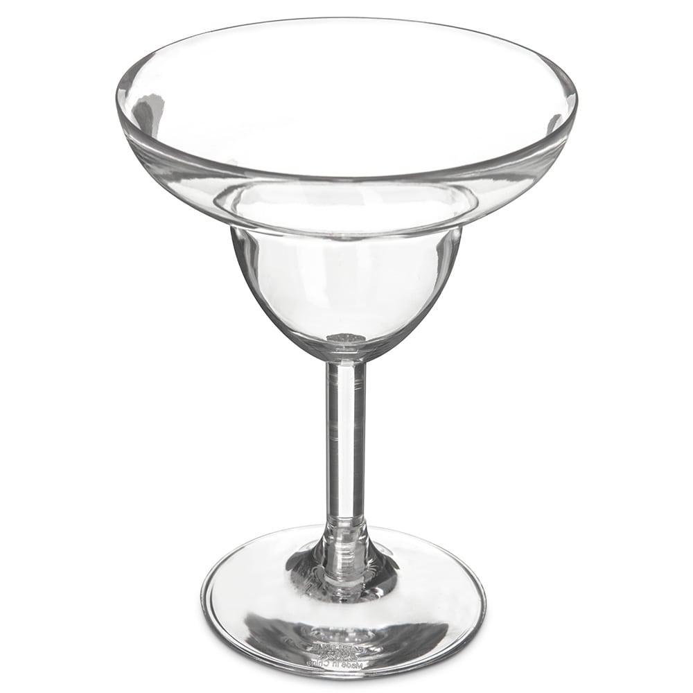 Carlisle 4362407 9.5 oz Margarita Glass, Polycarbonate, Clear