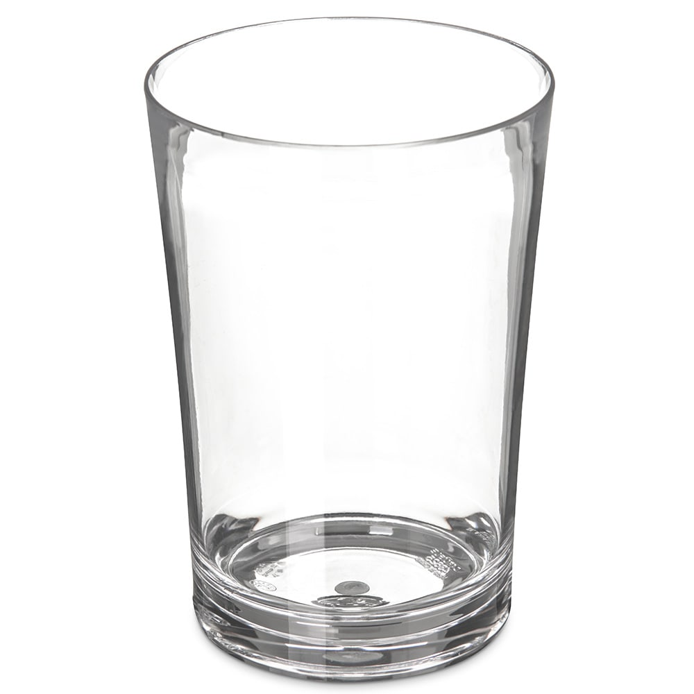Carlisle 4362507 18 oz Double Old Fashioned Glass, Polycarbonate, Clear