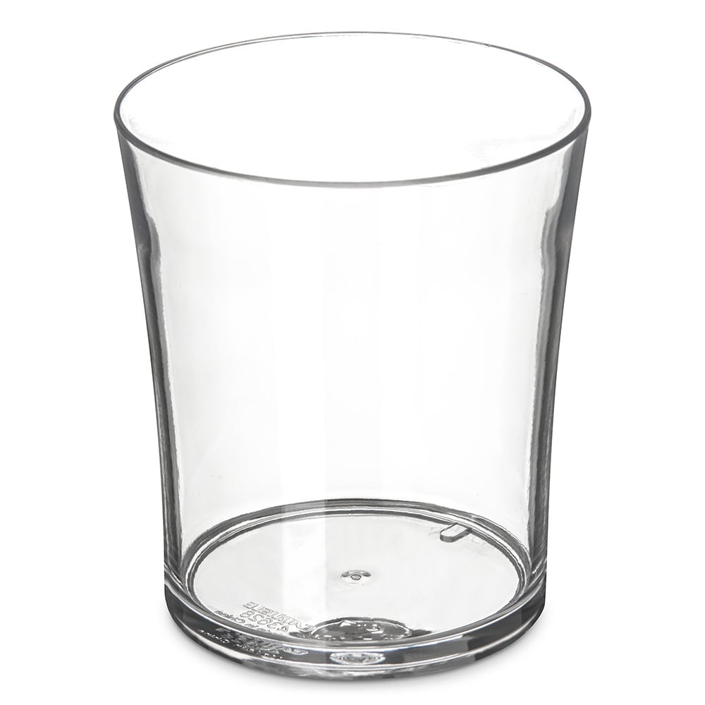 Carlisle 4362807 8 oz Old Fashioned Glass, Polycarbonate, Clear