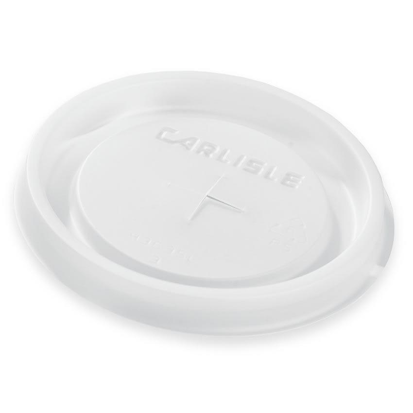 Carlisle 43635L30 Disposable Lid for 10 oz Tumbler, Translucent