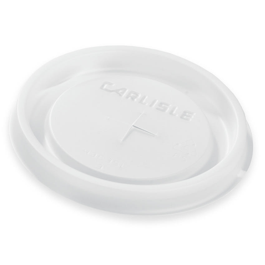 Carlisle 43636L30 Disposable Lid for 12 oz Tumbler, Translucent