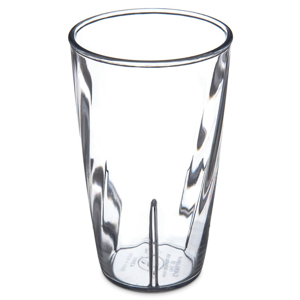 Carlisle 4366307 8-oz Tumbler w/ Graduated Measurements, Polycarbonate, Clear