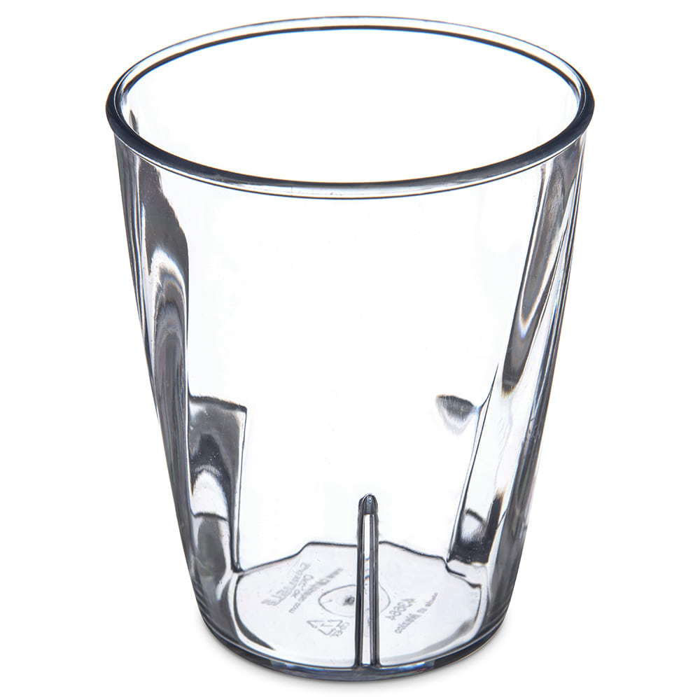 Carlisle 4366407 9 oz Tumbler w/ Graduated Measurements, Polycarbonate, Clear
