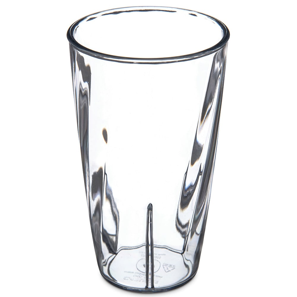Carlisle 4366507 10 oz Tumbler w/ Graduated Measurements, Polycarbonate, Clear