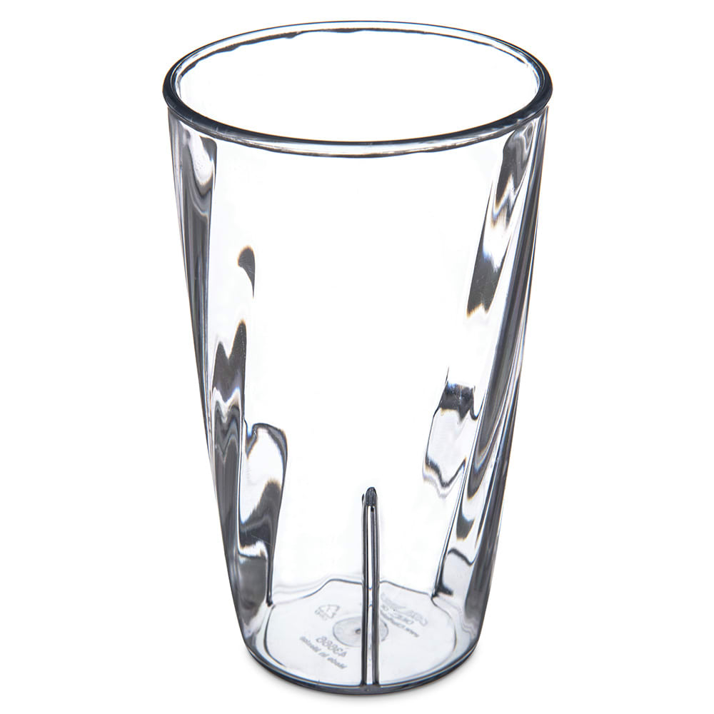 Carlisle 4366607 12-oz Tumbler w/ Graduated Measurements, Polycarbonate, Clear