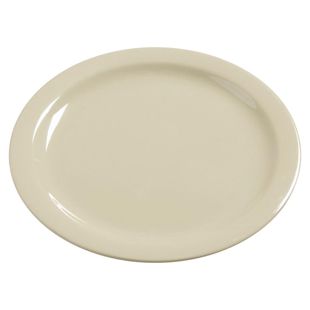 "Carlisle 4385006 10.25"" Round Dinner Plate, Melamine, Oatmeal"