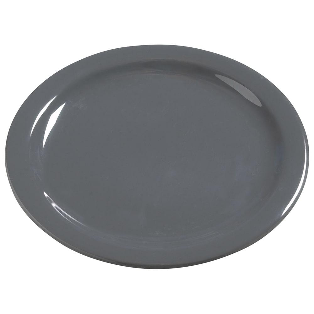 """Carlisle 4385040 10.25"""" Round Dinner Plate, Melamine, Peppercorn"""