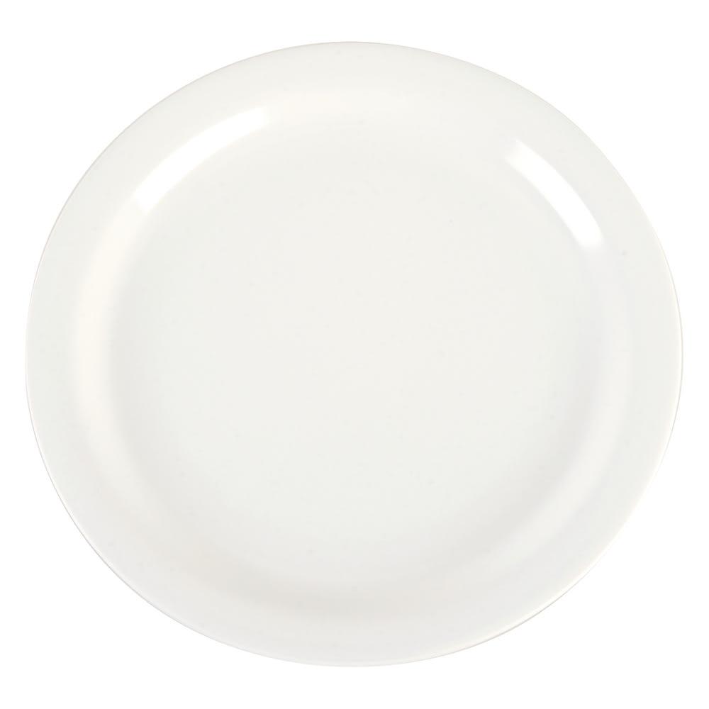 "Carlisle 4385237 9"" Round Dinner Plate, Melamine, Bavarian Cream"