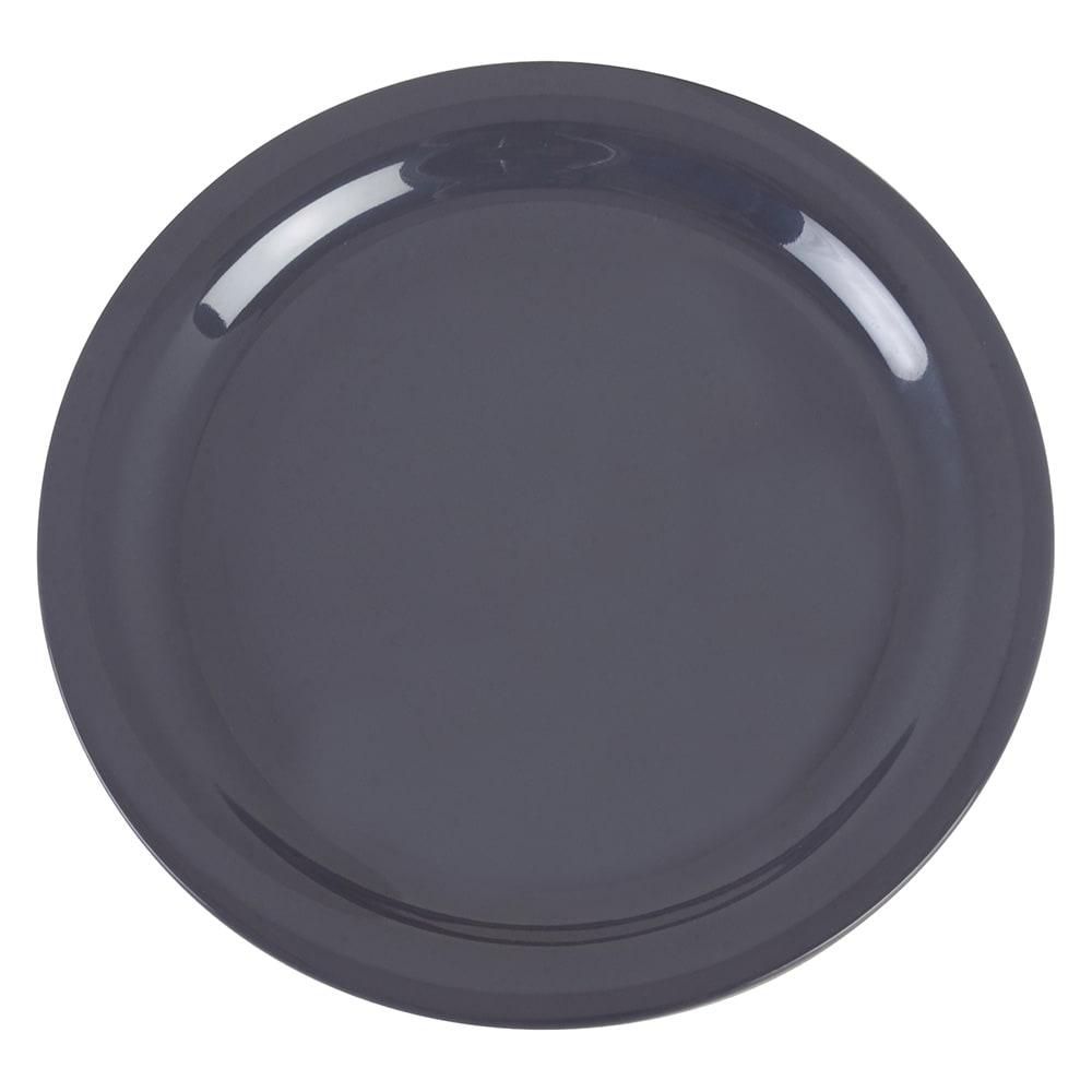 """Carlisle 4385240 9"""" Round Dinner Plate, Melamine, Peppercorn"""