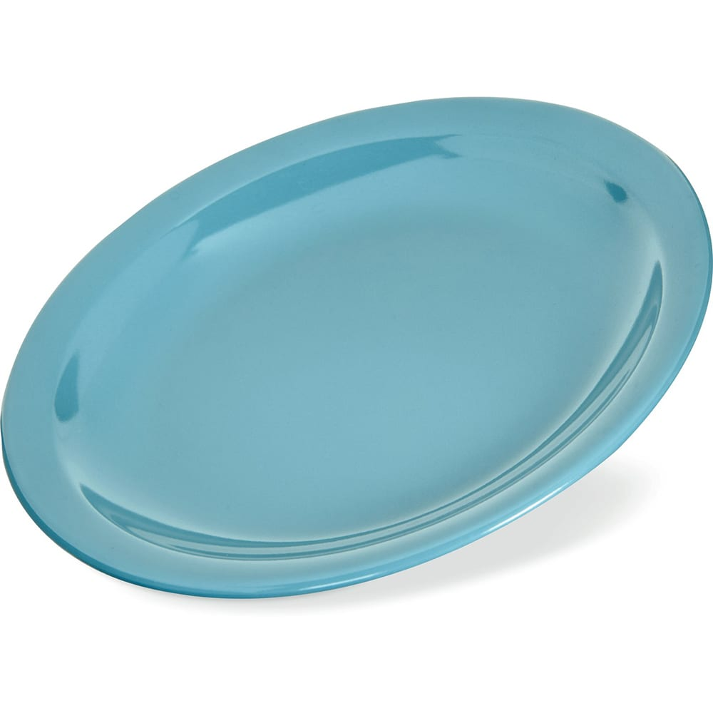 "Carlisle 4385663 5.625"" Round Bread & Butter Plate, Melamine, Turquoise"