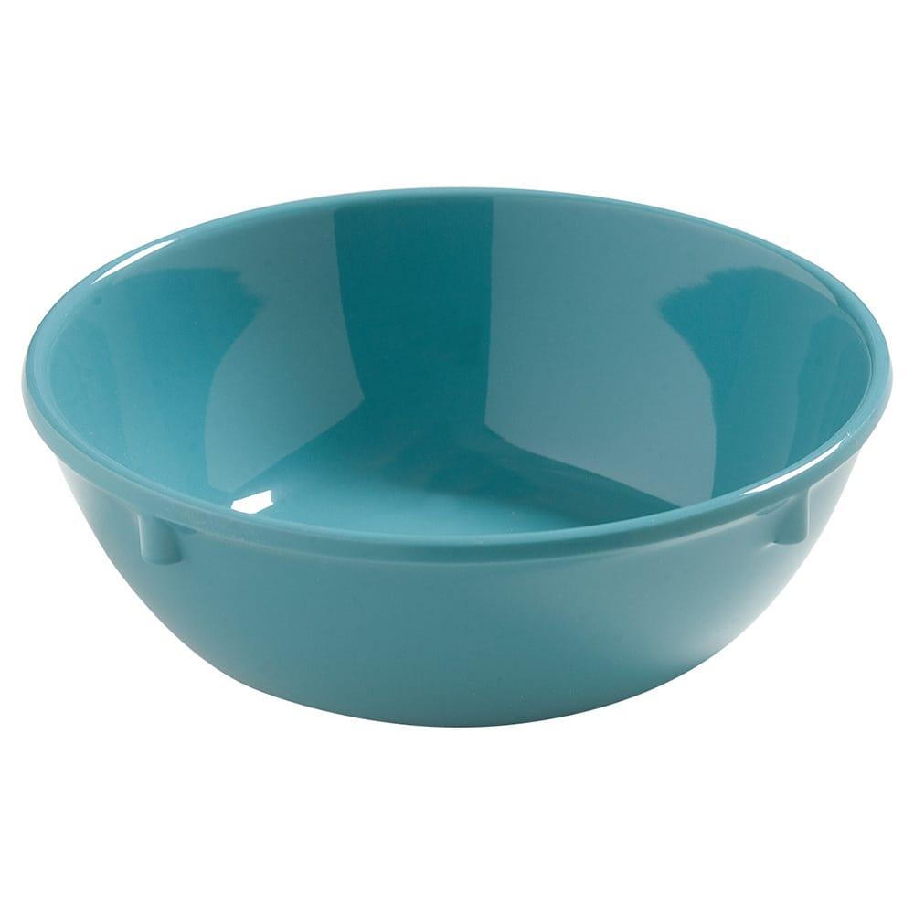 "Carlisle 4385863 5.75"" Round Nappie Bowl w/ 16 oz Capacity, Melamine, Turquoise"