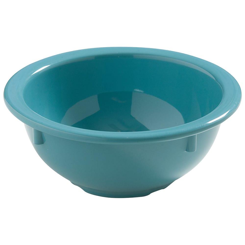 "Carlisle 4386063 5.5"" Round Nappie Bowl w/ 14-oz Capacity, Melamine, Turquoise"