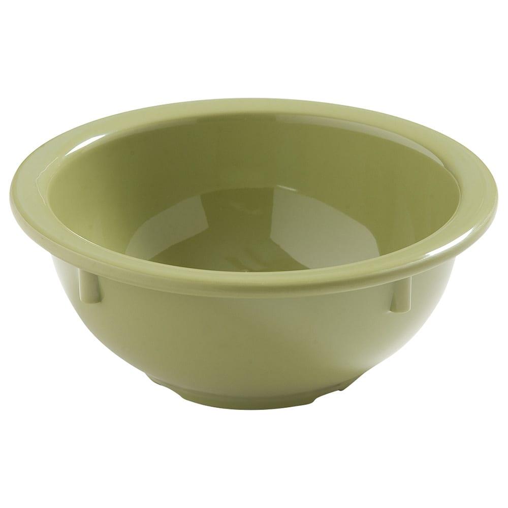 "Carlisle 4386082 5.5"" Round Nappie Bowl w/ 14-oz Capacity, Melamine, Wasabi"
