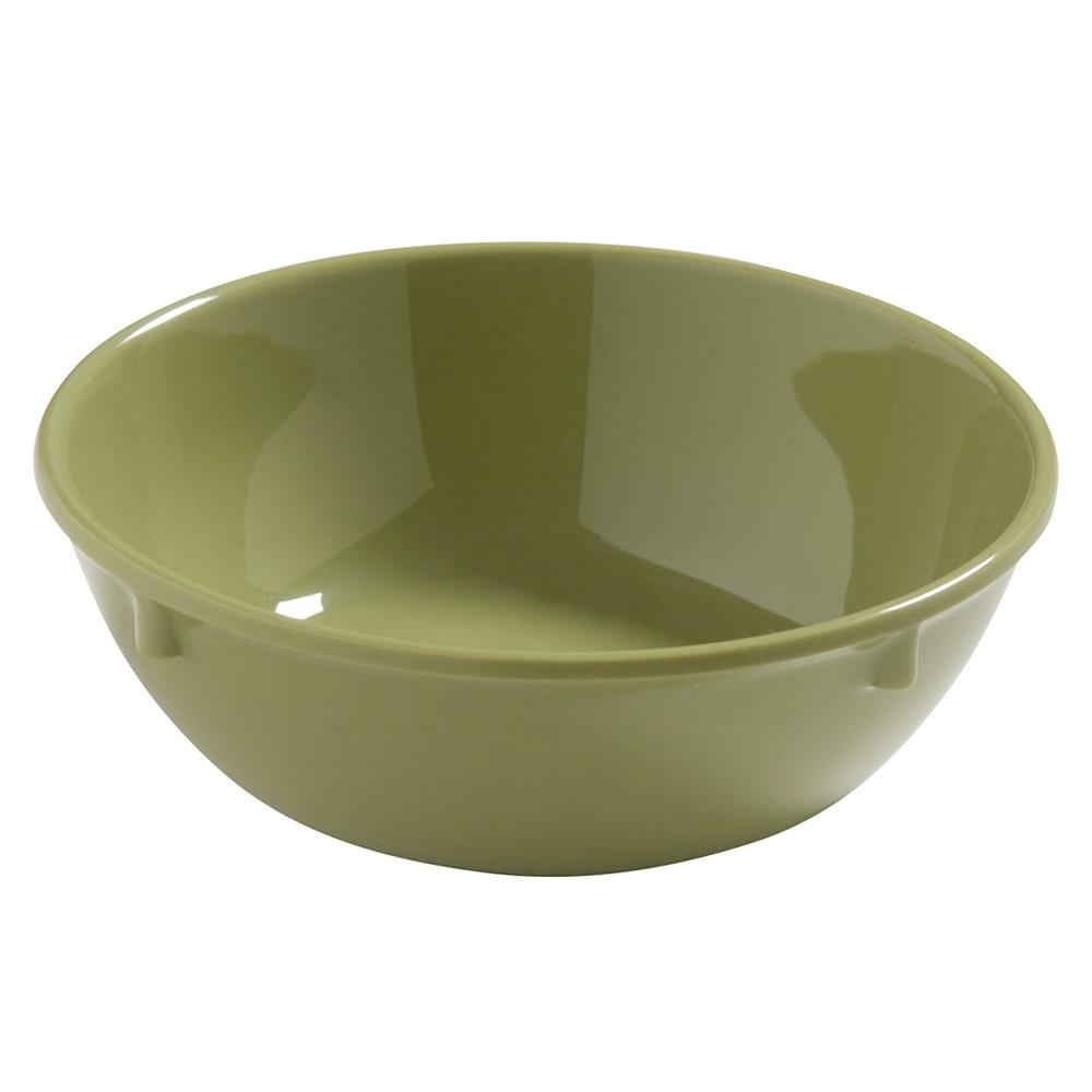 "Carlisle 4386282 5"" Round Nappie Bowl w/ 10-oz Capacity, Melamine, Wasabi"