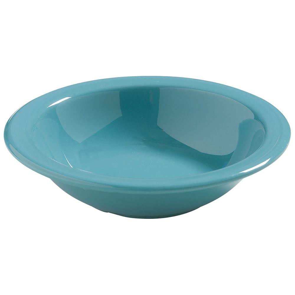 Carlisle 4386463 10 oz Dayton Grapefruit Bowl - Turquoise