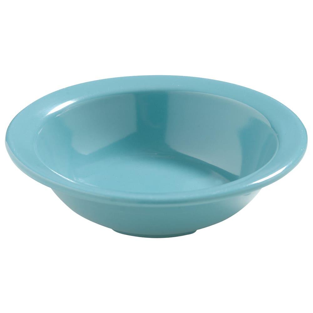 """Carlisle 4386663 4.5"""" Round Fruit Bowl w/ 4.75 oz Capacity, Melamine, Turquoise"""