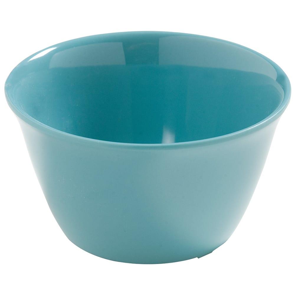 "Carlisle 4386863 3.75"" Round Bouillon Cup w/ 8-oz Capacity, Melamine, Turquoise"