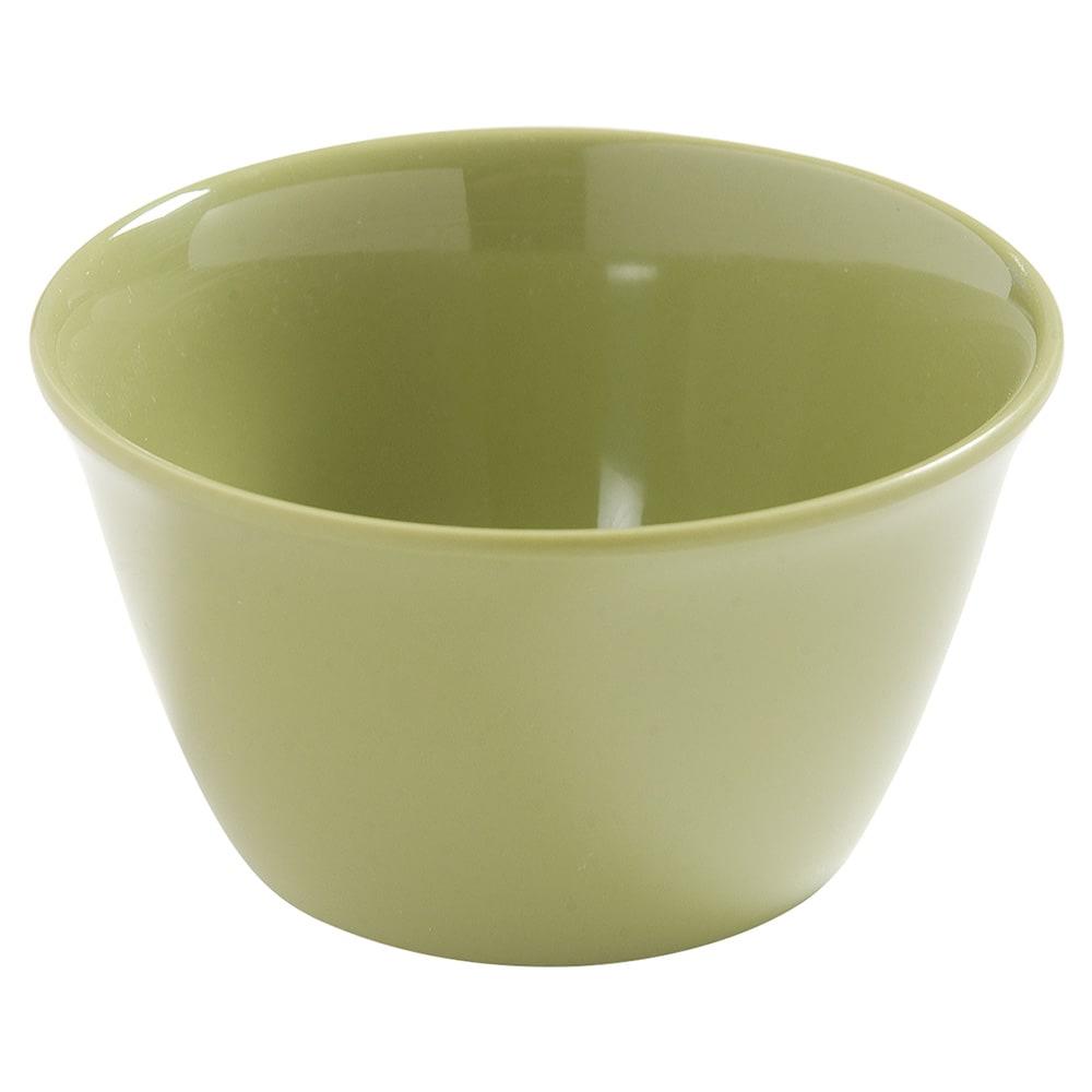 "Carlisle 4386882 3.75"" Round Bouillon Cup w/ 8-oz Capacity, Melamine, Wasabi"
