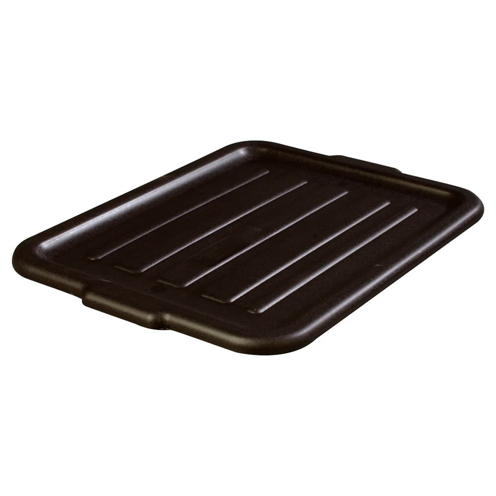 Carlisle 4401203 Bus Box Lid - Snap-On, Polypropylene, Black