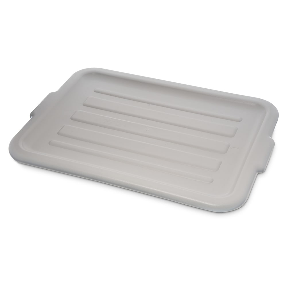 Carlisle 4401223 Bus Box Lid - Snap-On, Polypropylene, Gray