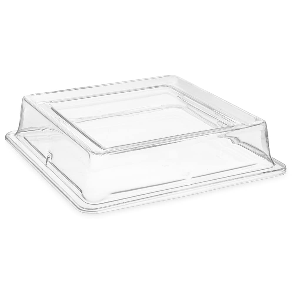 "Carlisle 44400C07 12"" Plate Cover - Polycarbonate, Clear"