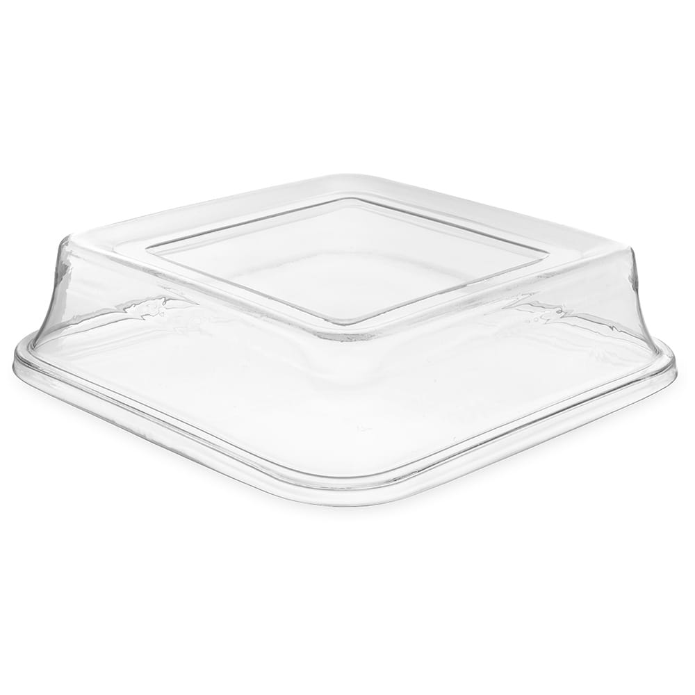 "Carlisle 44402C07 14"" Platter Cover - Polycarbonate, Clear"