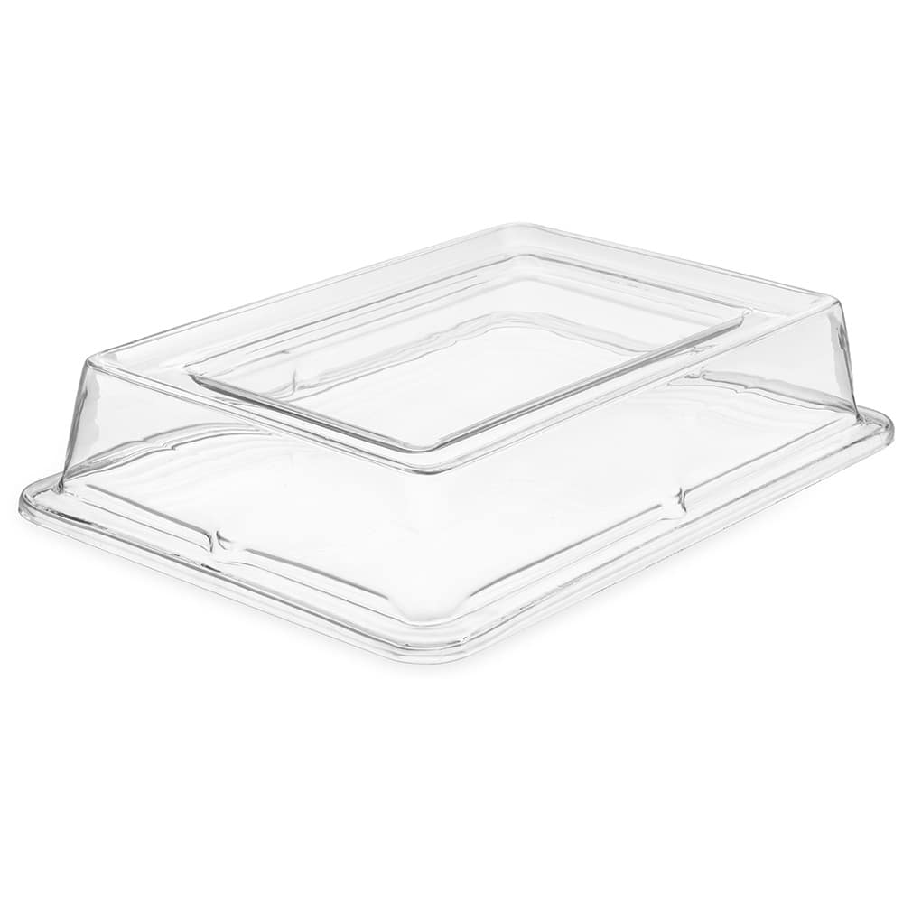 Carlisle 44422C07 Full Size Food Pan Cover - Polycarbonate, Clear