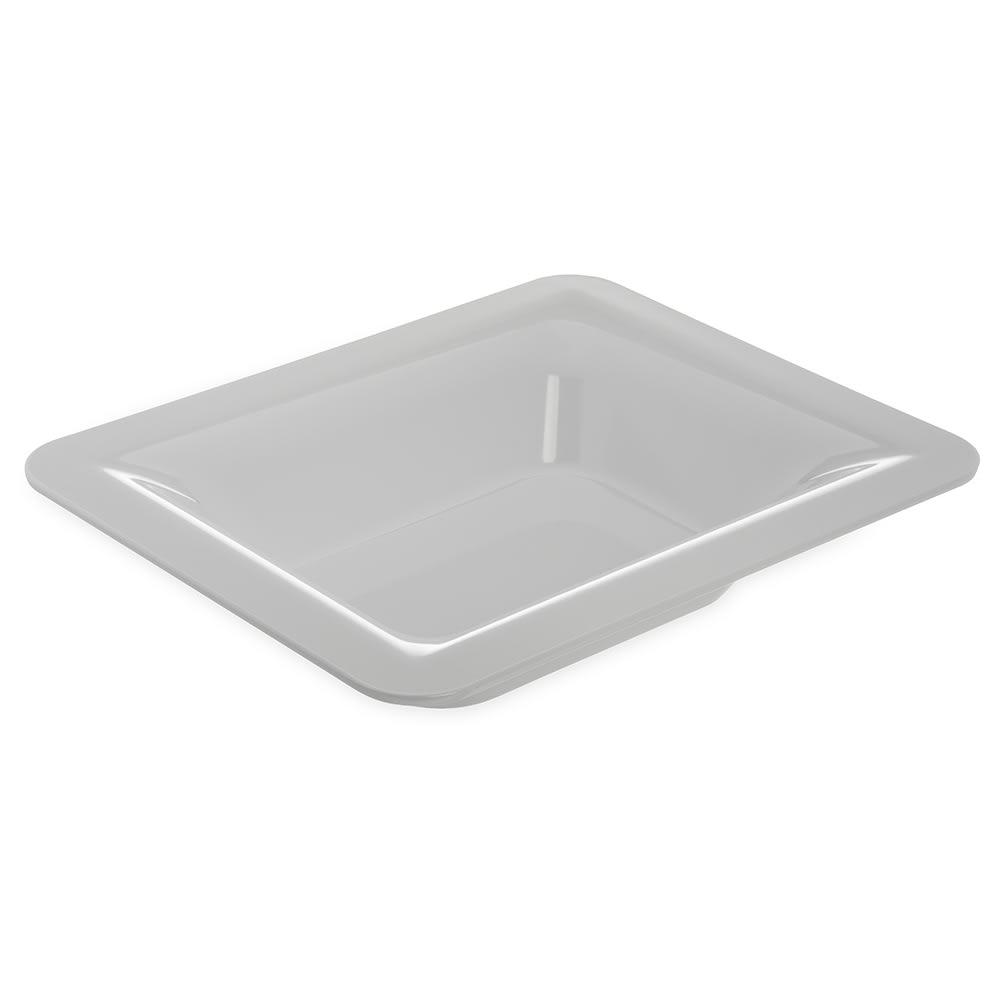 """Carlisle 4443202 Half Size Food Pan - 2.5""""D, Melamine, White"""