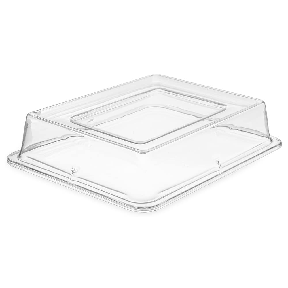 "Carlisle 44432C07 Half Size Food Pan Cover - 2.5""D, Polycarbonate, Clear"