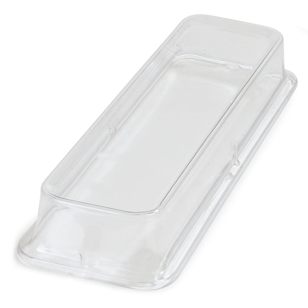 Carlisle 44440C07 Half Size Food Pan Cover - Polycarbonate, Clear