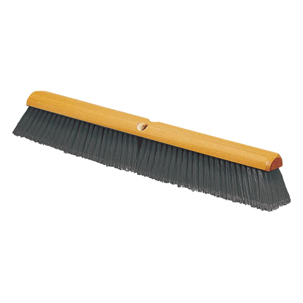 "Carlisle 4501323 18"" Push Broom Head w/ Polypropylene Bristles, Gray"