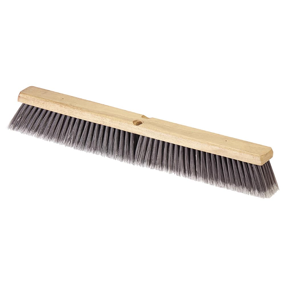 "Carlisle 4501623 36"" Push Broom Head w/ Polypropylene Bristles, Gray"