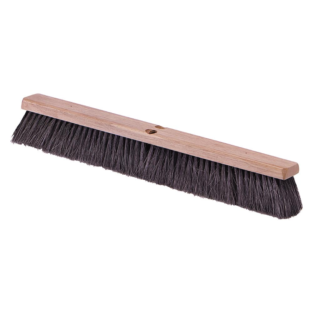 "Carlisle 4505303 18"" Push Broom Head w/ Tampico Bristles, Black"